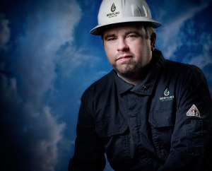 Chris Faulkner in uniform.